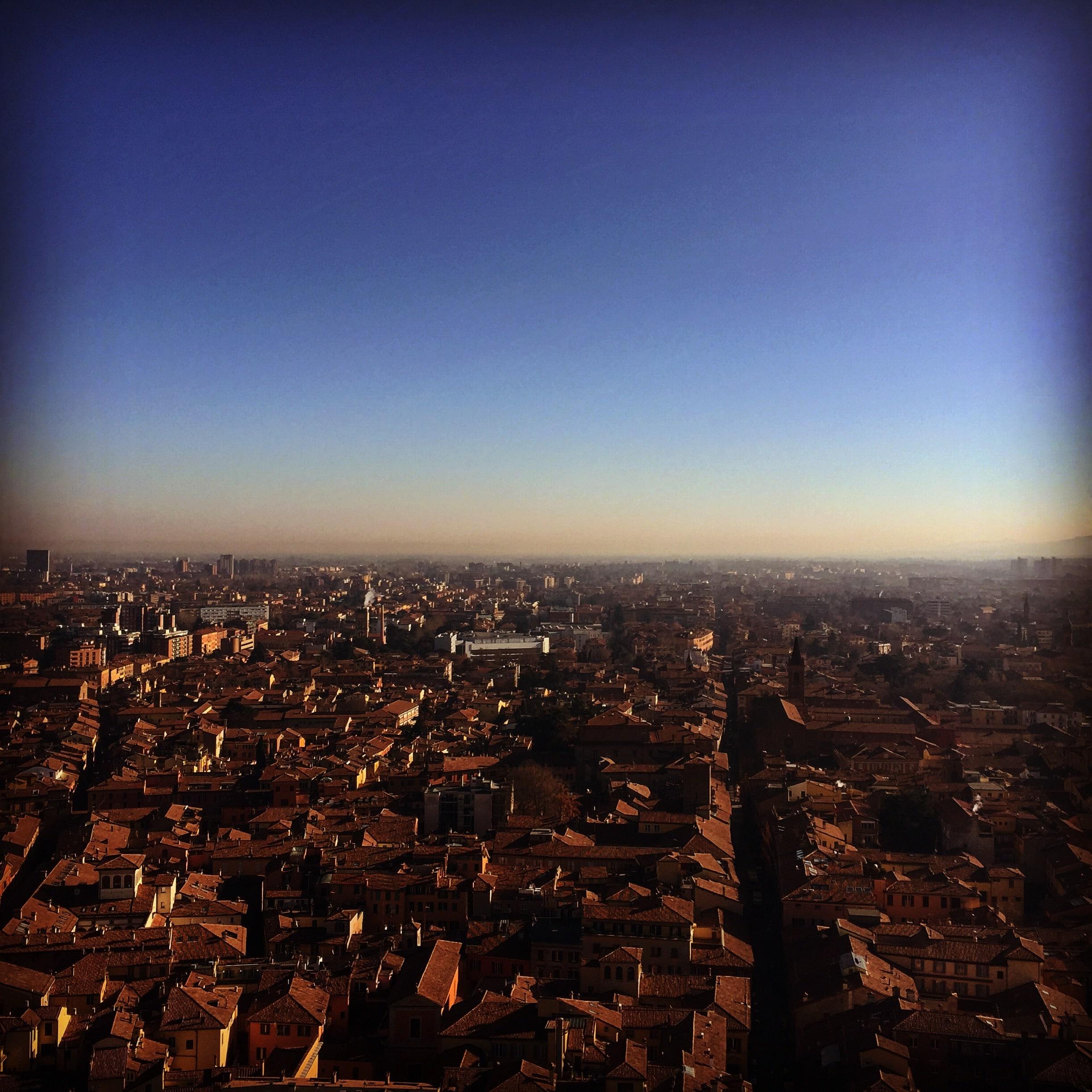 Щастието да си италианец #Болоня