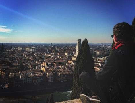 Щастието да си италианец #Верона