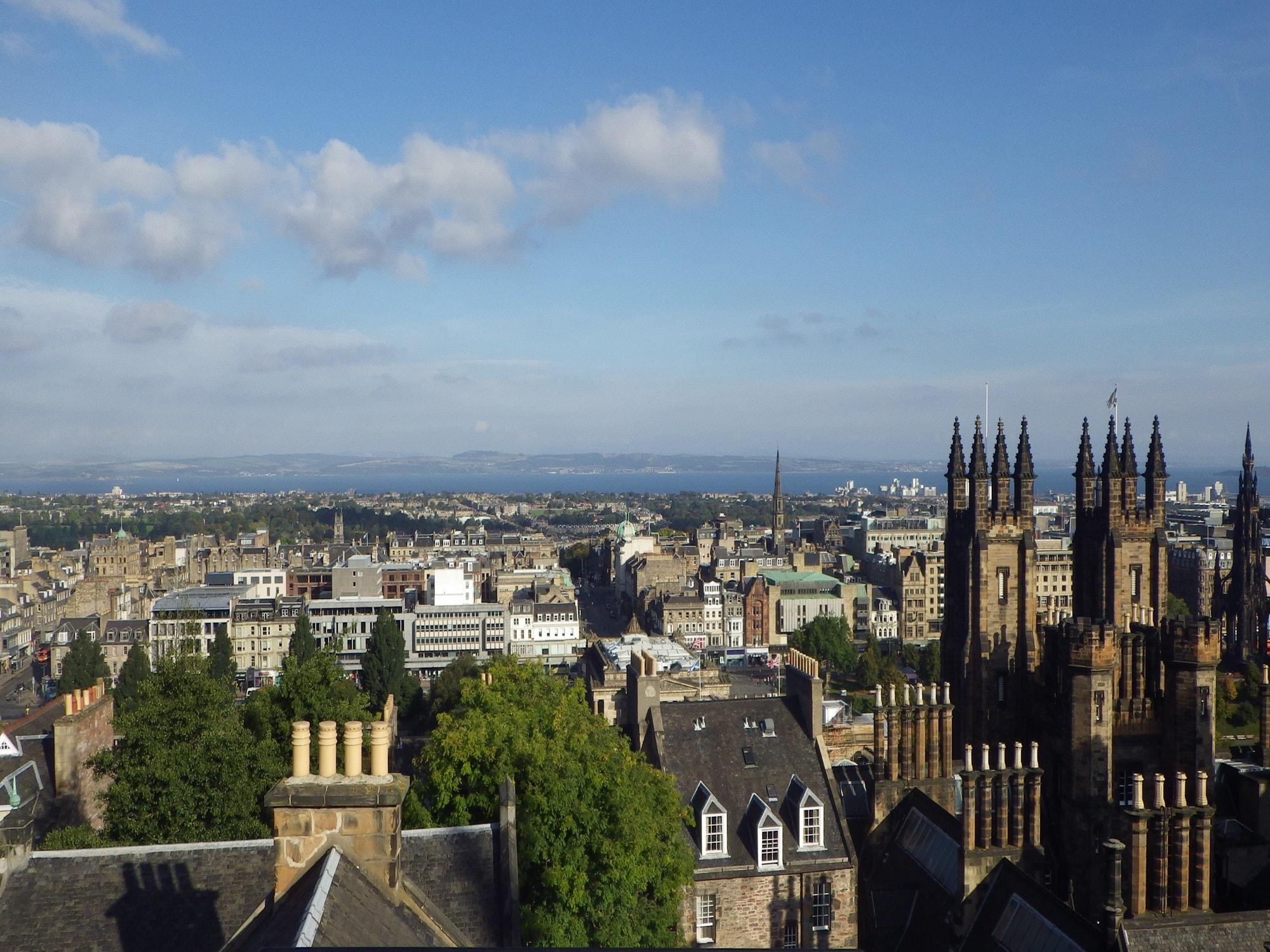 Adventure: Iana Doncheva in Edinburgh