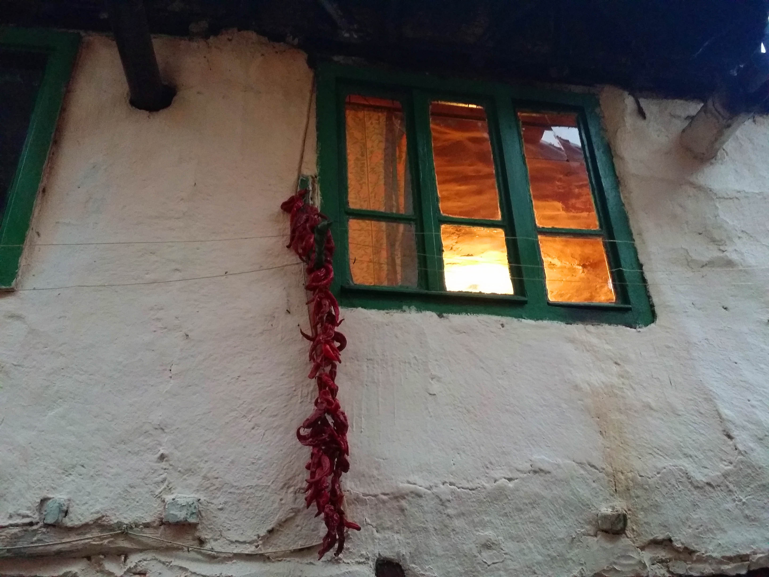 Village Pirin-window