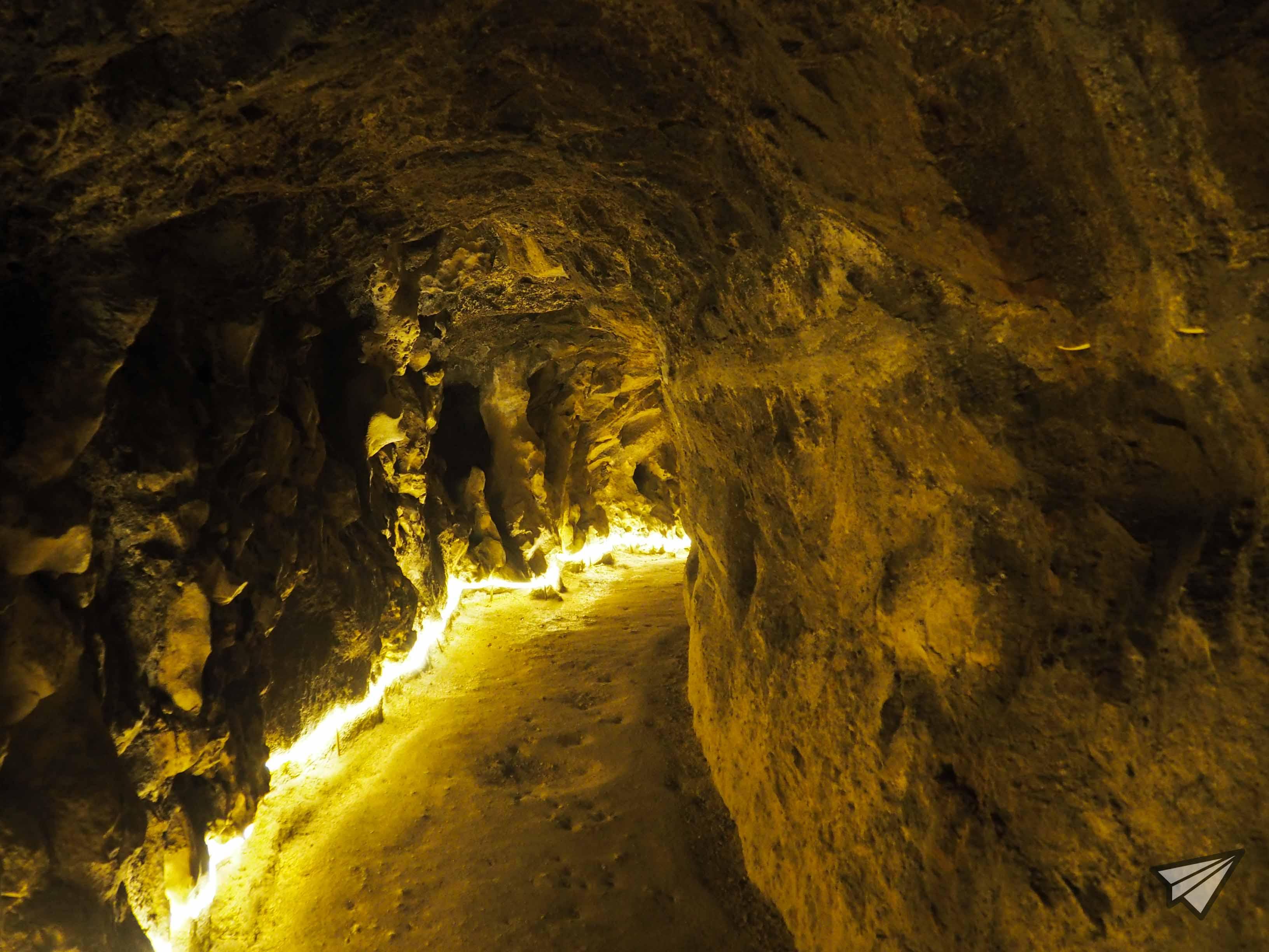 Дворецът Кинта да Регалейра пещера