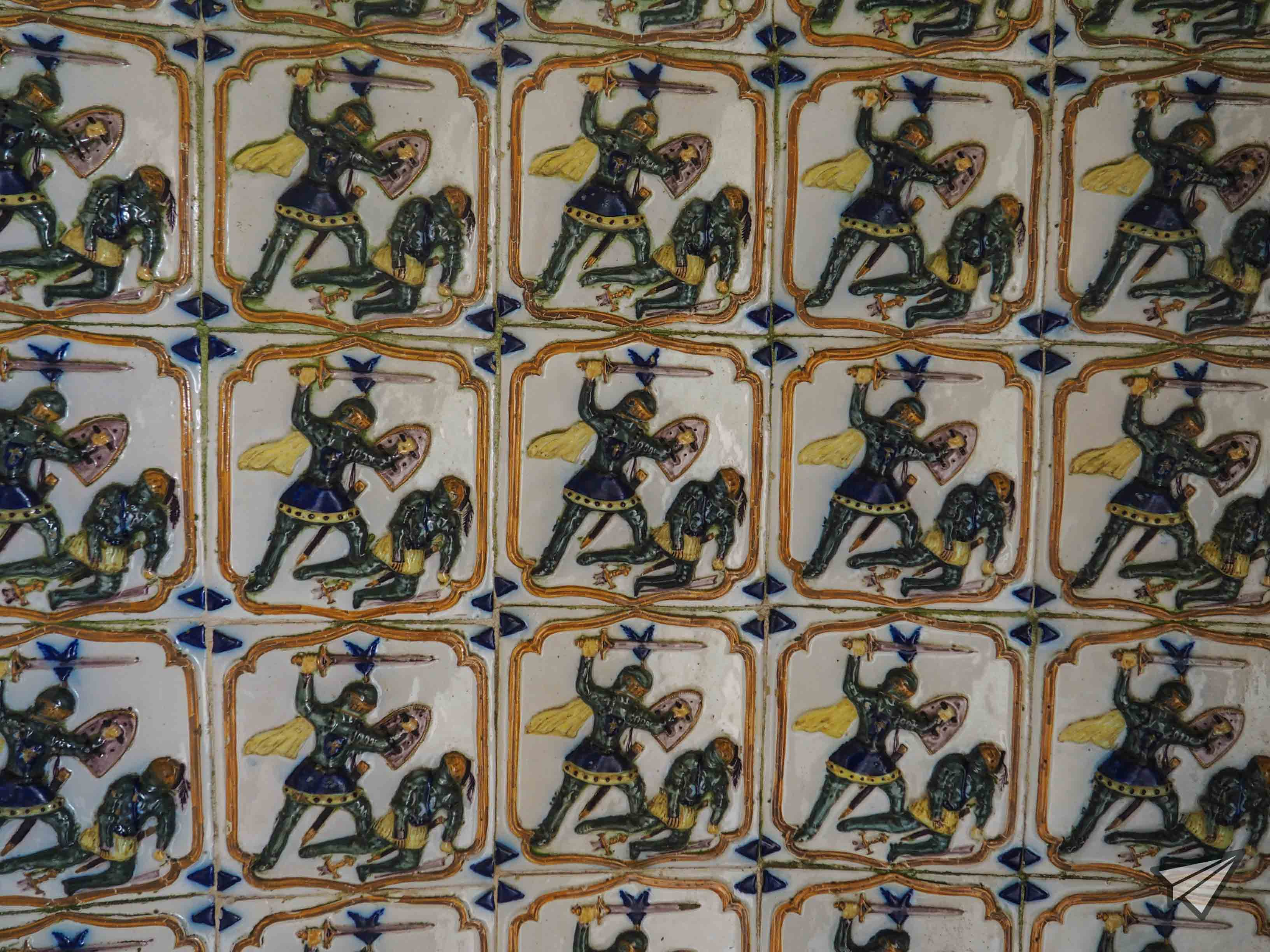 Palácio Nacional da Pena decoration