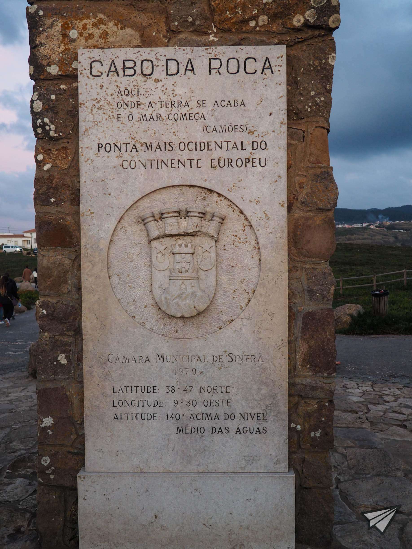 Кабо Да Рока обелиск