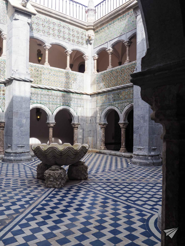 Дворецът Пена отвътре