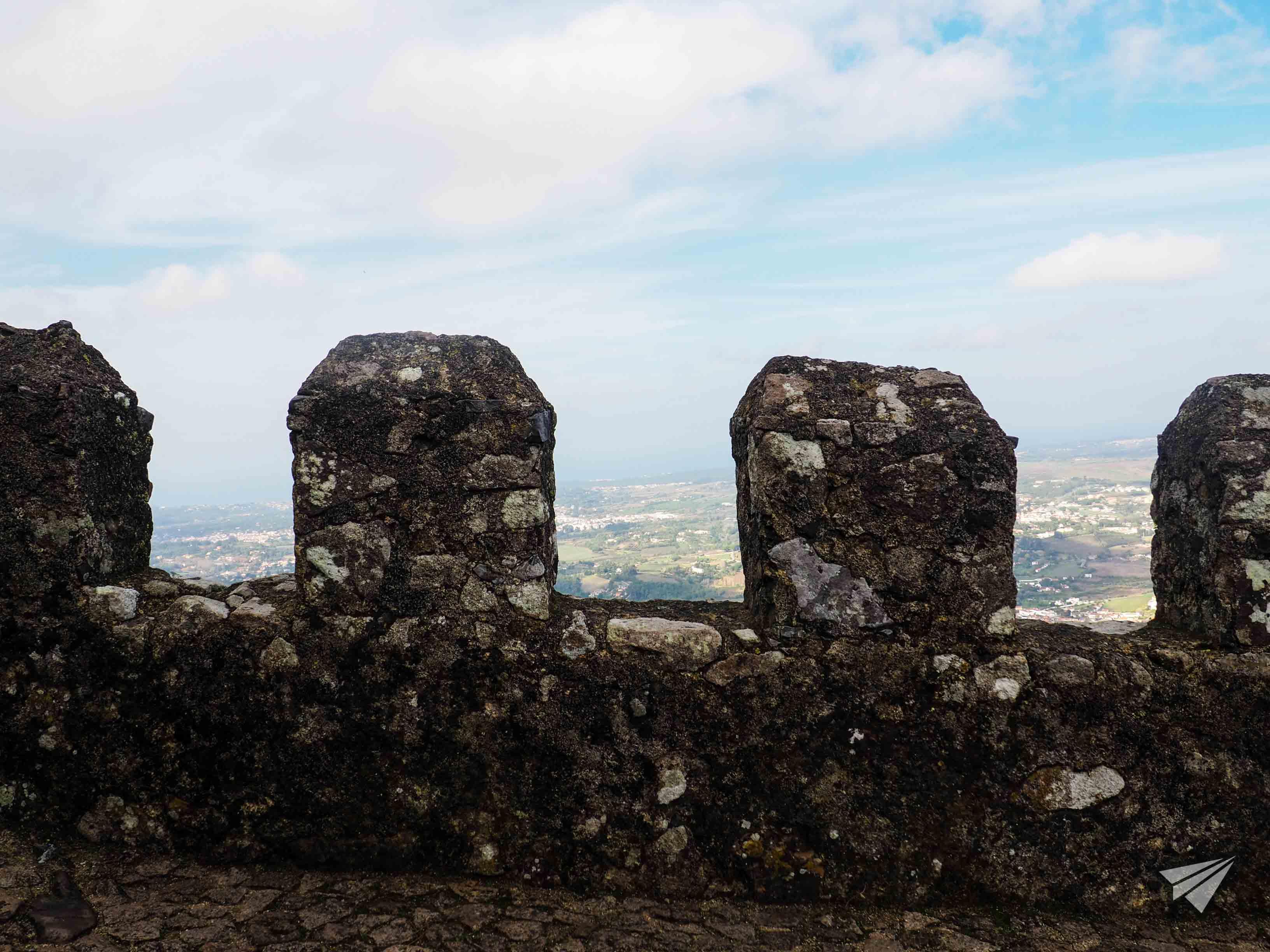 Мавританският замък панорама