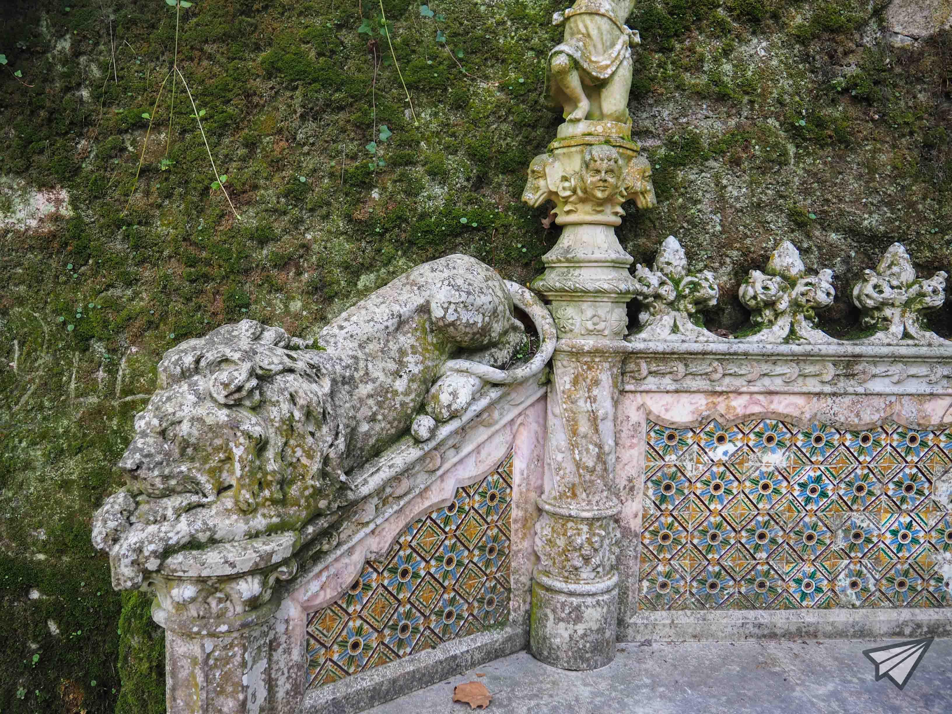 Дворецът Кинта да Регалейра градина