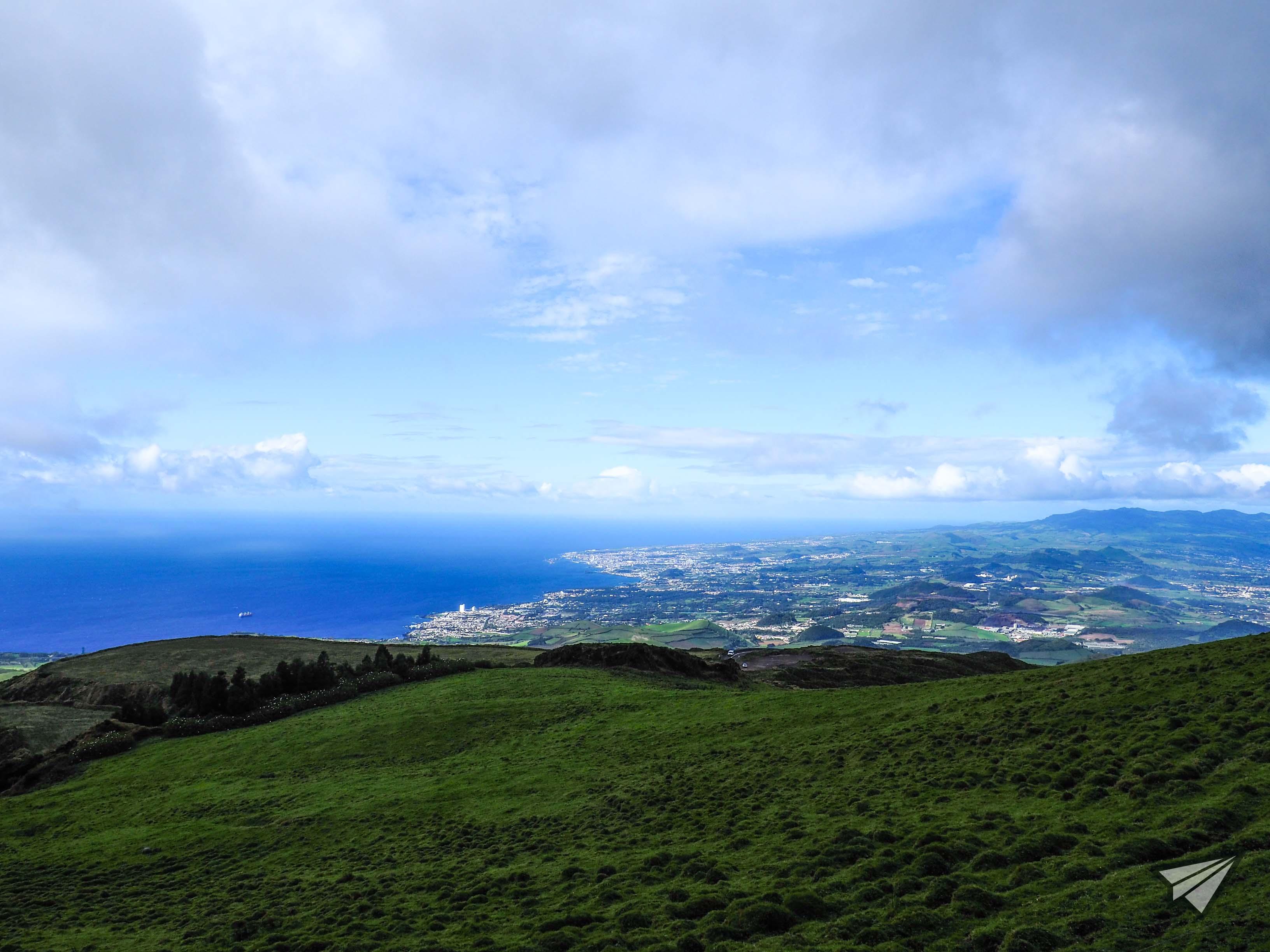 Miradouro do Pico da Barrosa юг