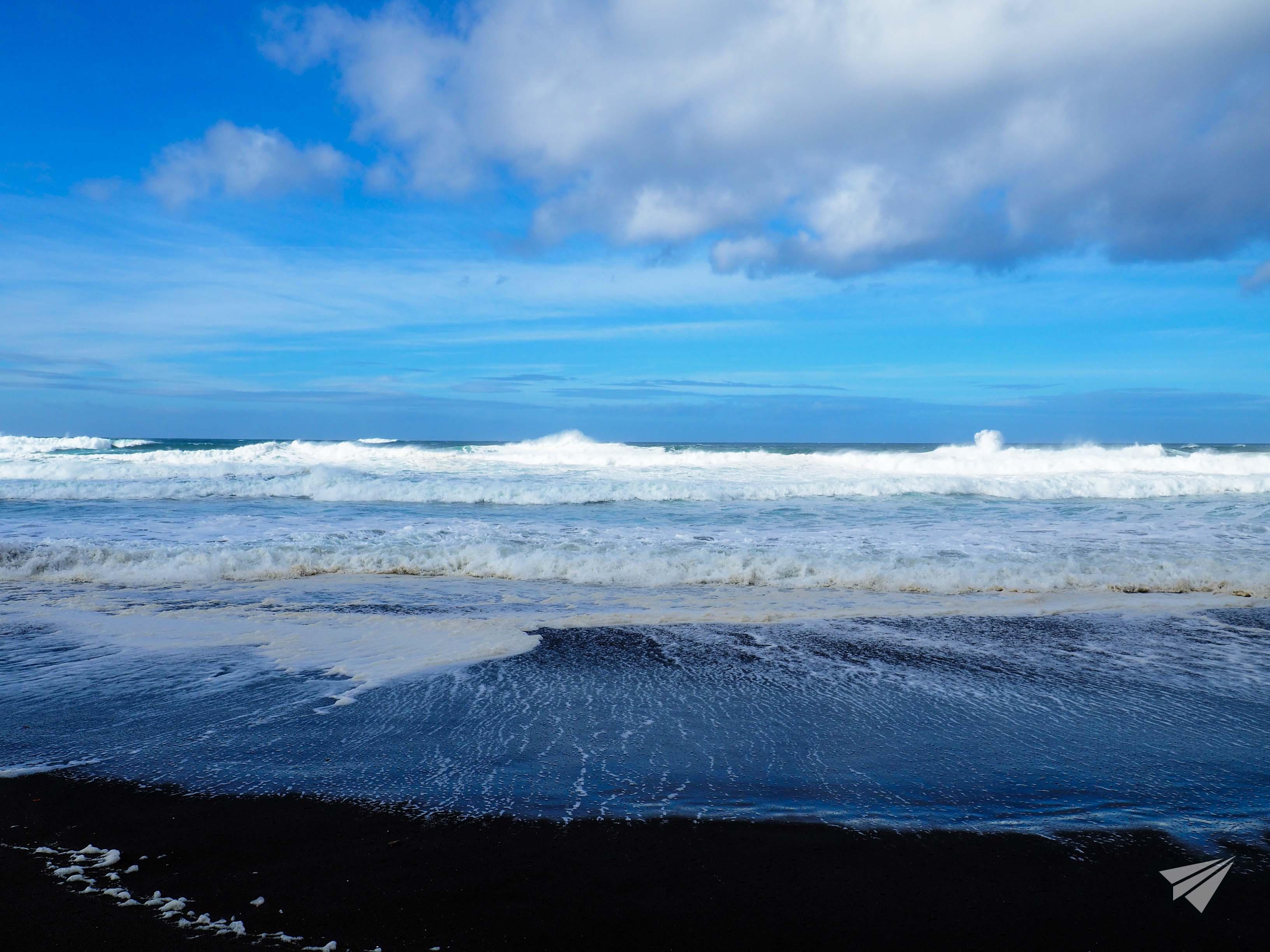 Praia de Santa Barbara вълни