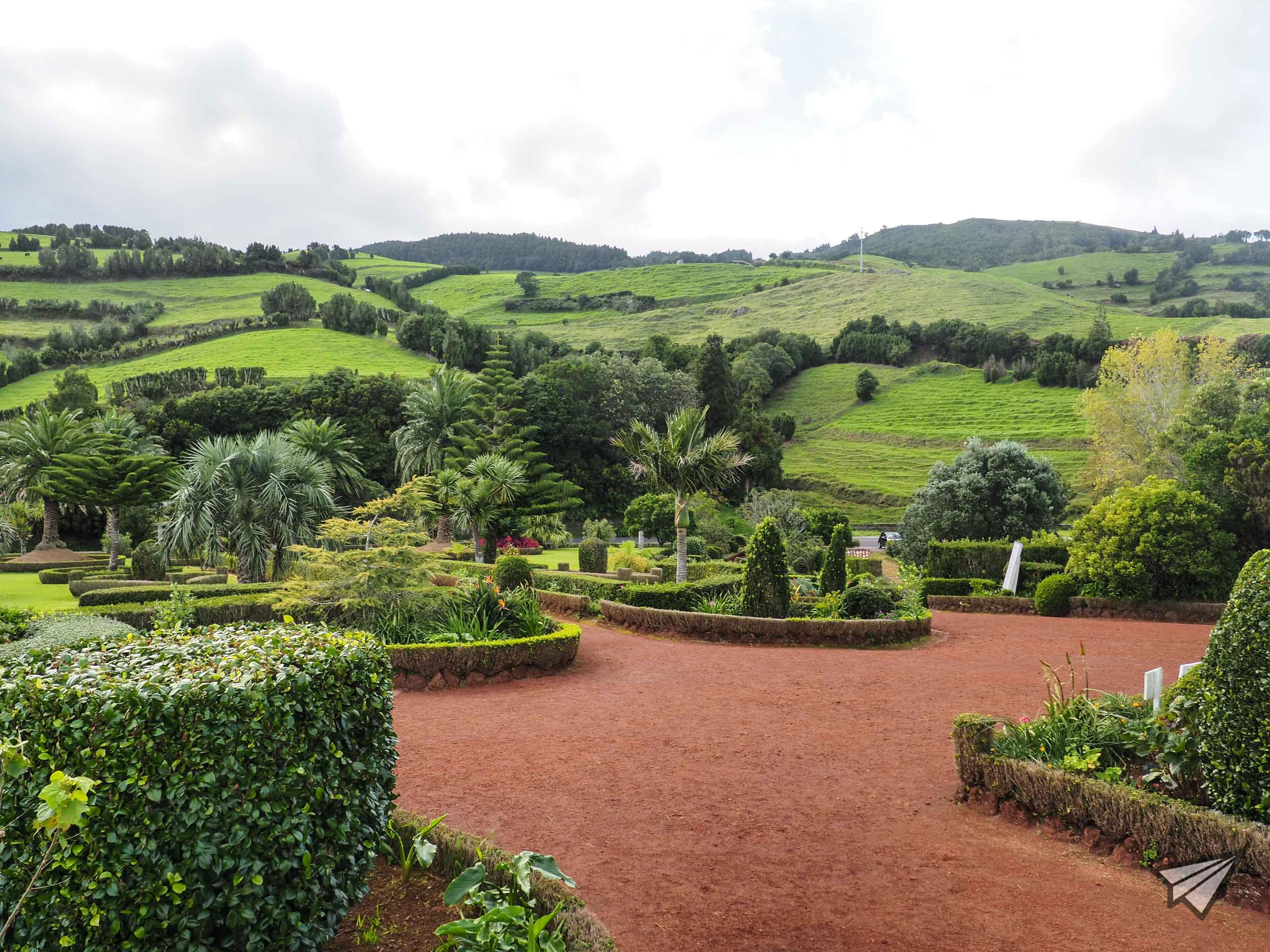Miradouro da Ponta do Sossego градина