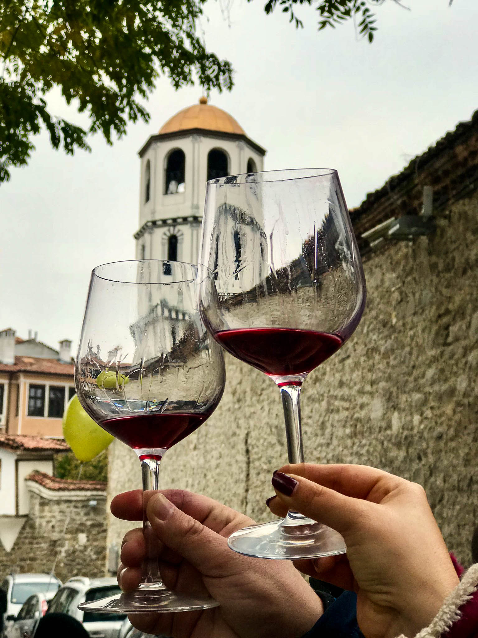 The Young Wine Festival in Plovdiv's Old Town