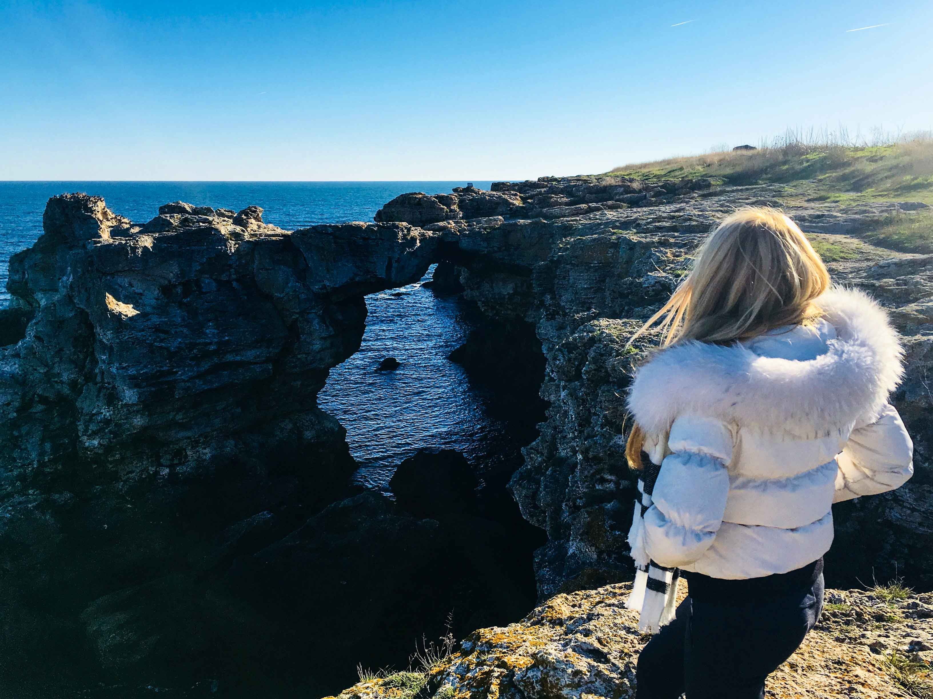 Скалната арка край Тюленово