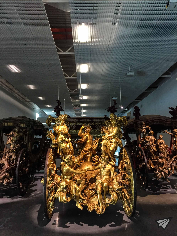 Museu Nacional dos Coches gold