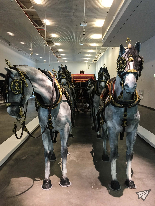 Museu Nacional dos Coches horses
