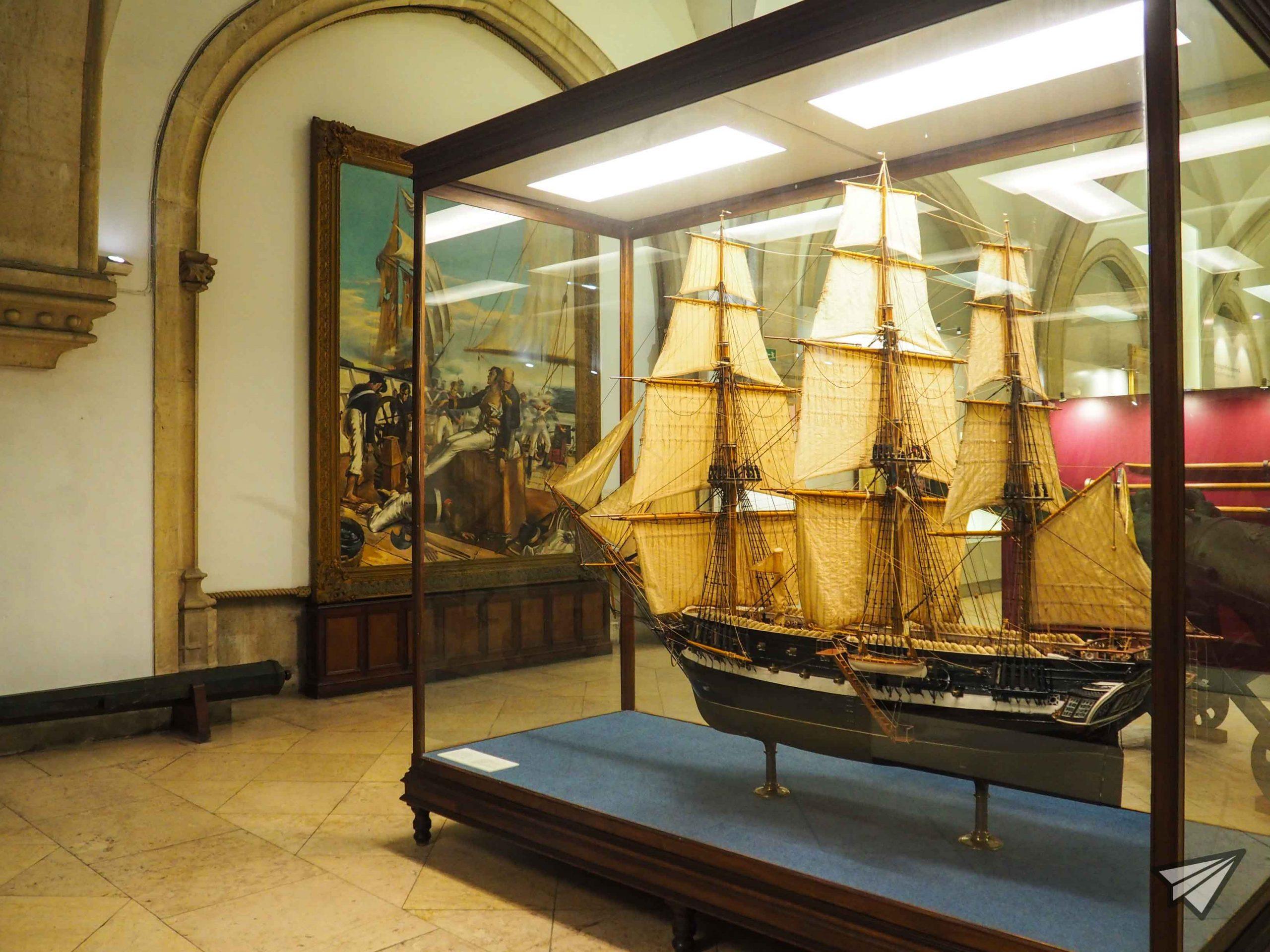 Museu de Marinha painting