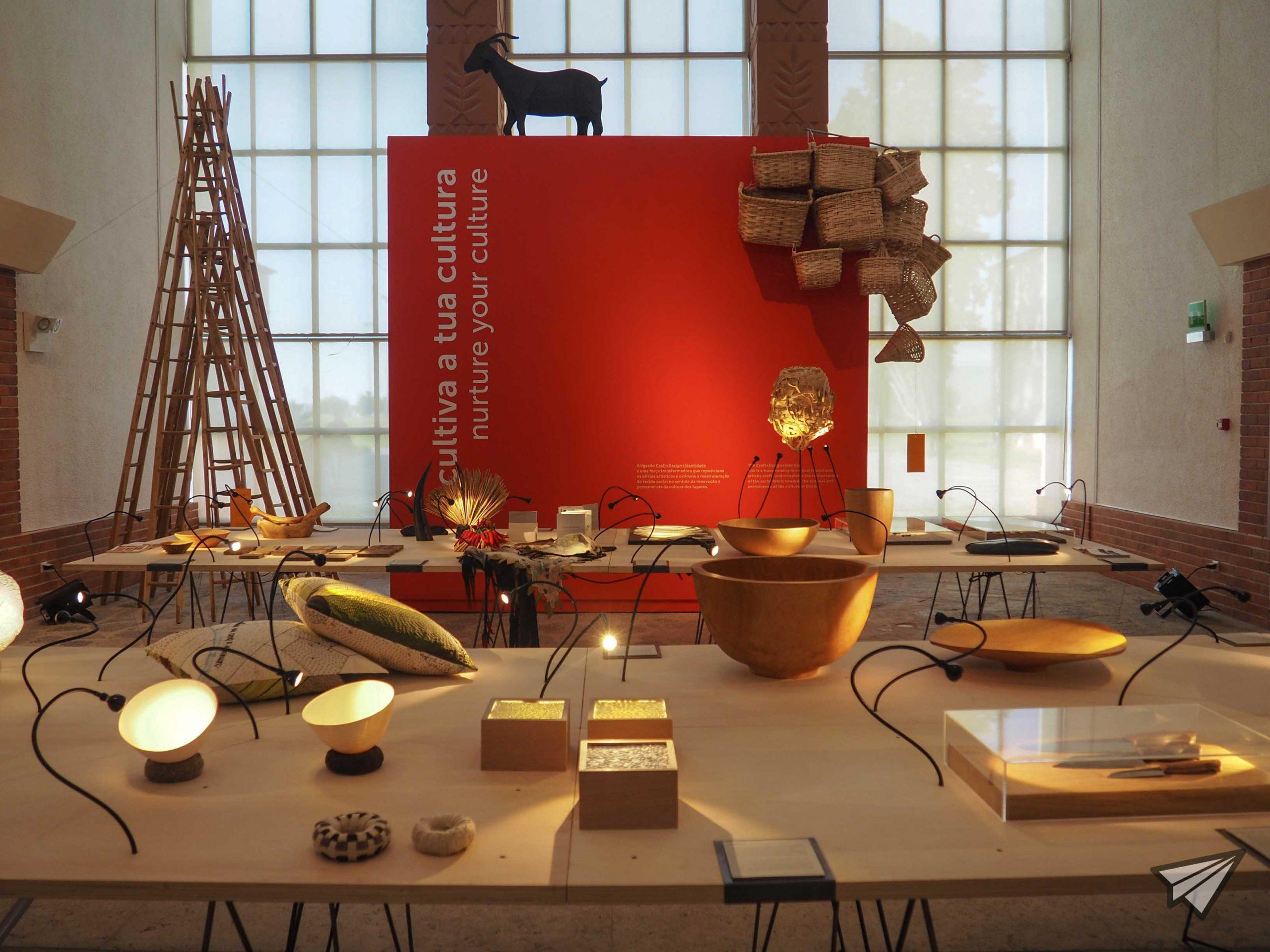 Museu de Arte Popular room
