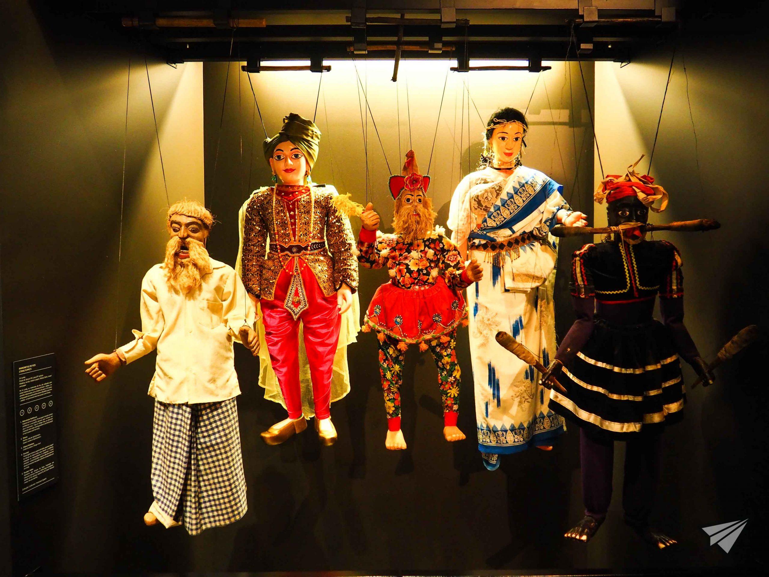 Museu da Marioneta doll