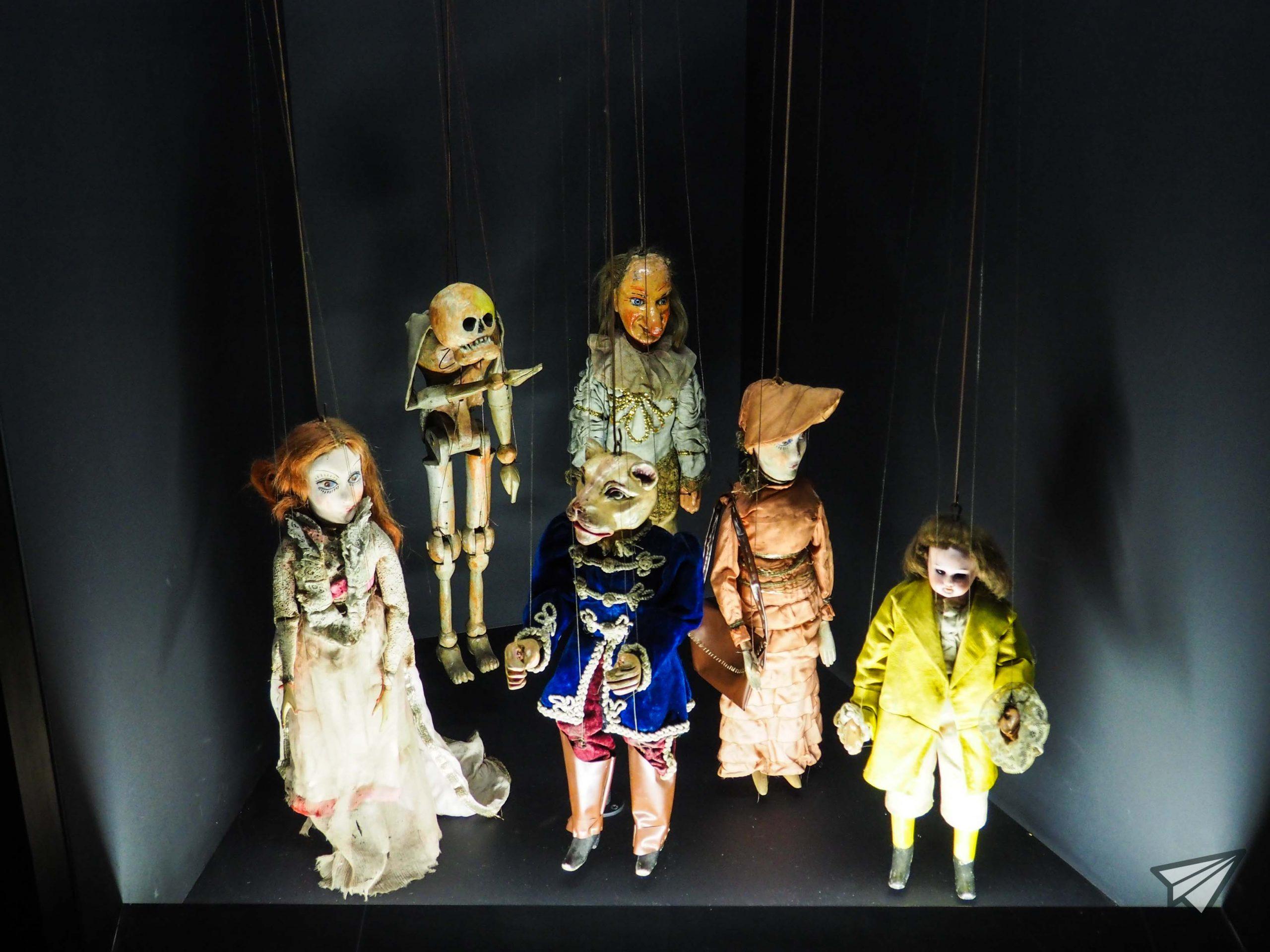 Museu da Marioneta dolls