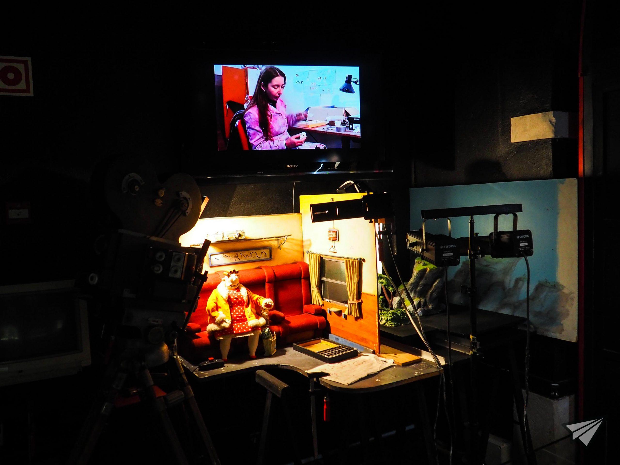 Museu da Marioneta filming