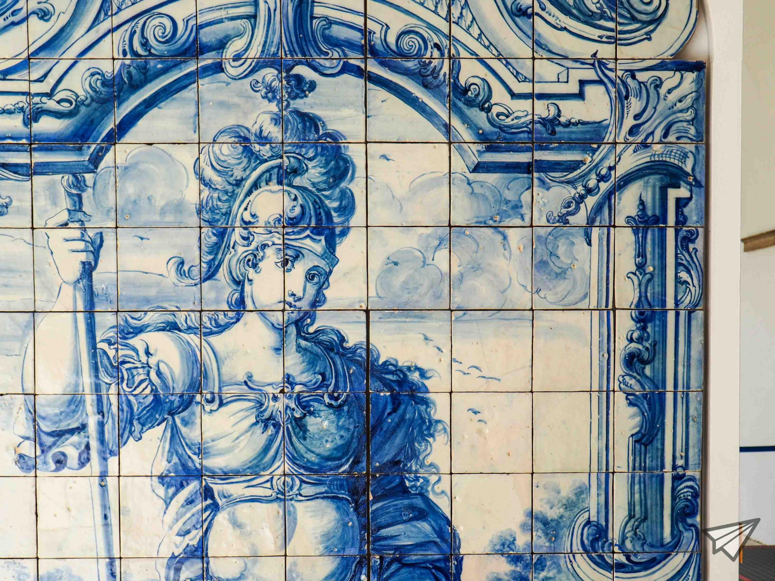 Museu Nacional do Azulejo soldier