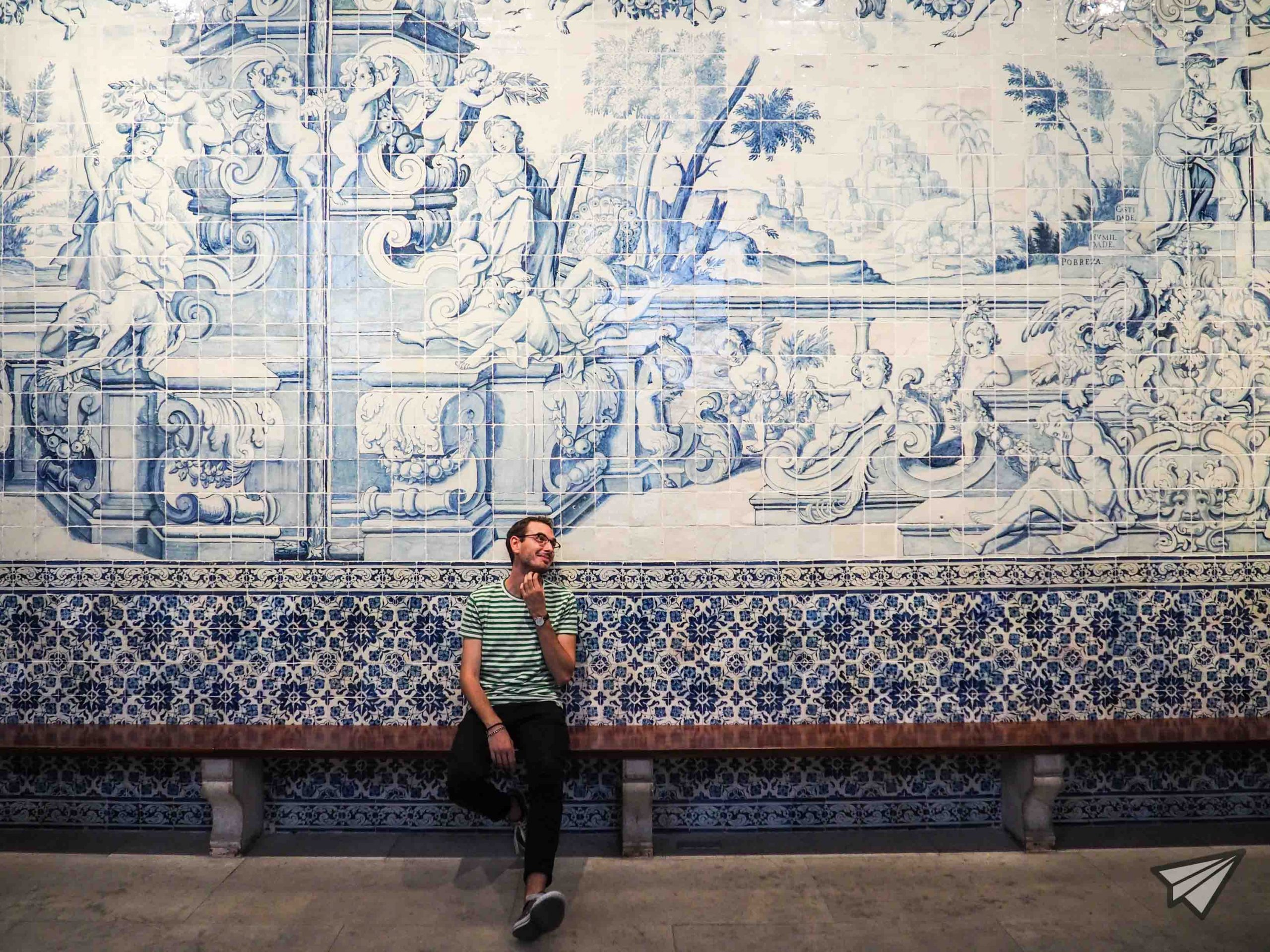 Museu Nacional do Azulejo room