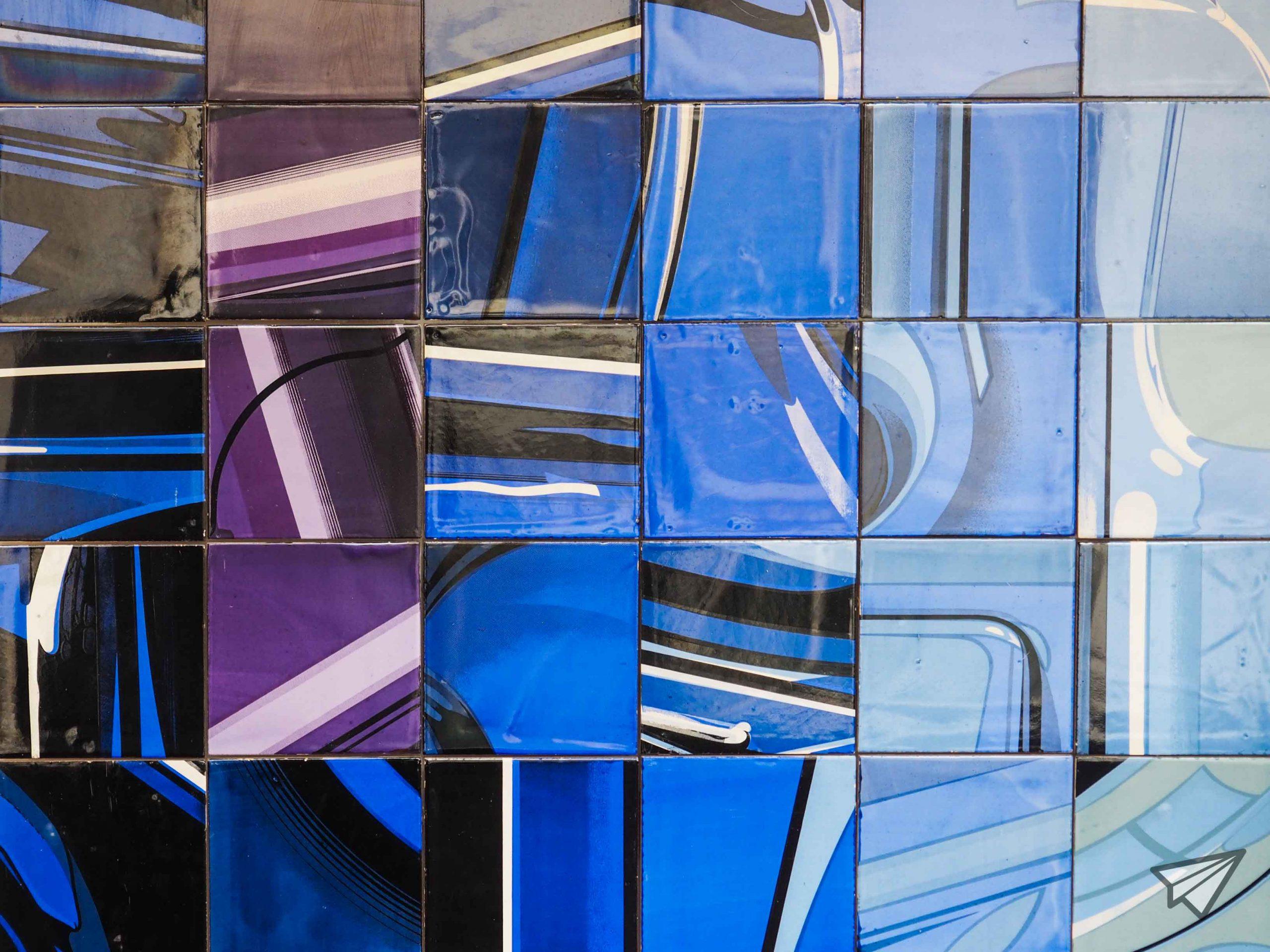 Museu Nacional do Azulejo colors