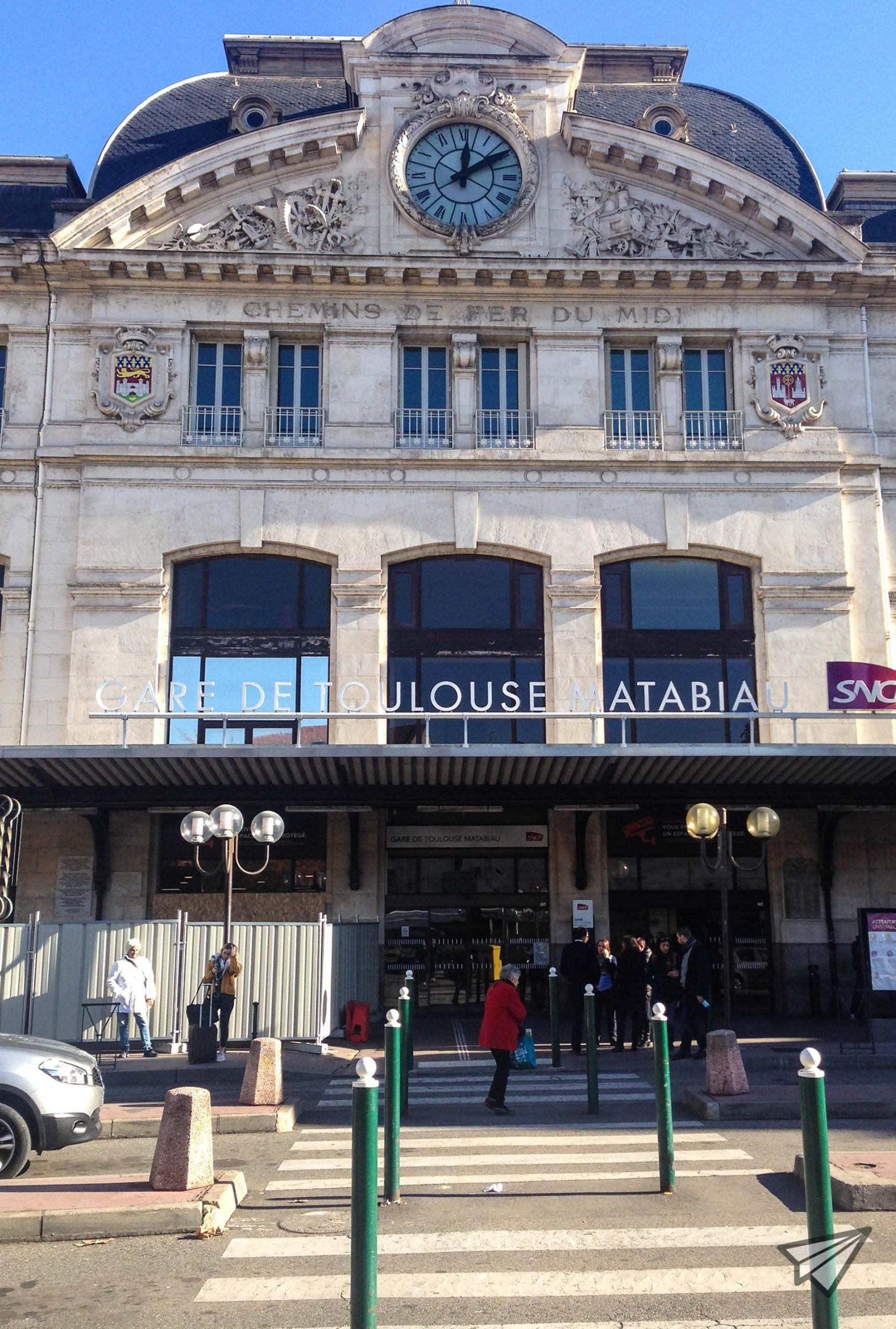 Toulouse Train Station_Gare Toulouse Matabiau