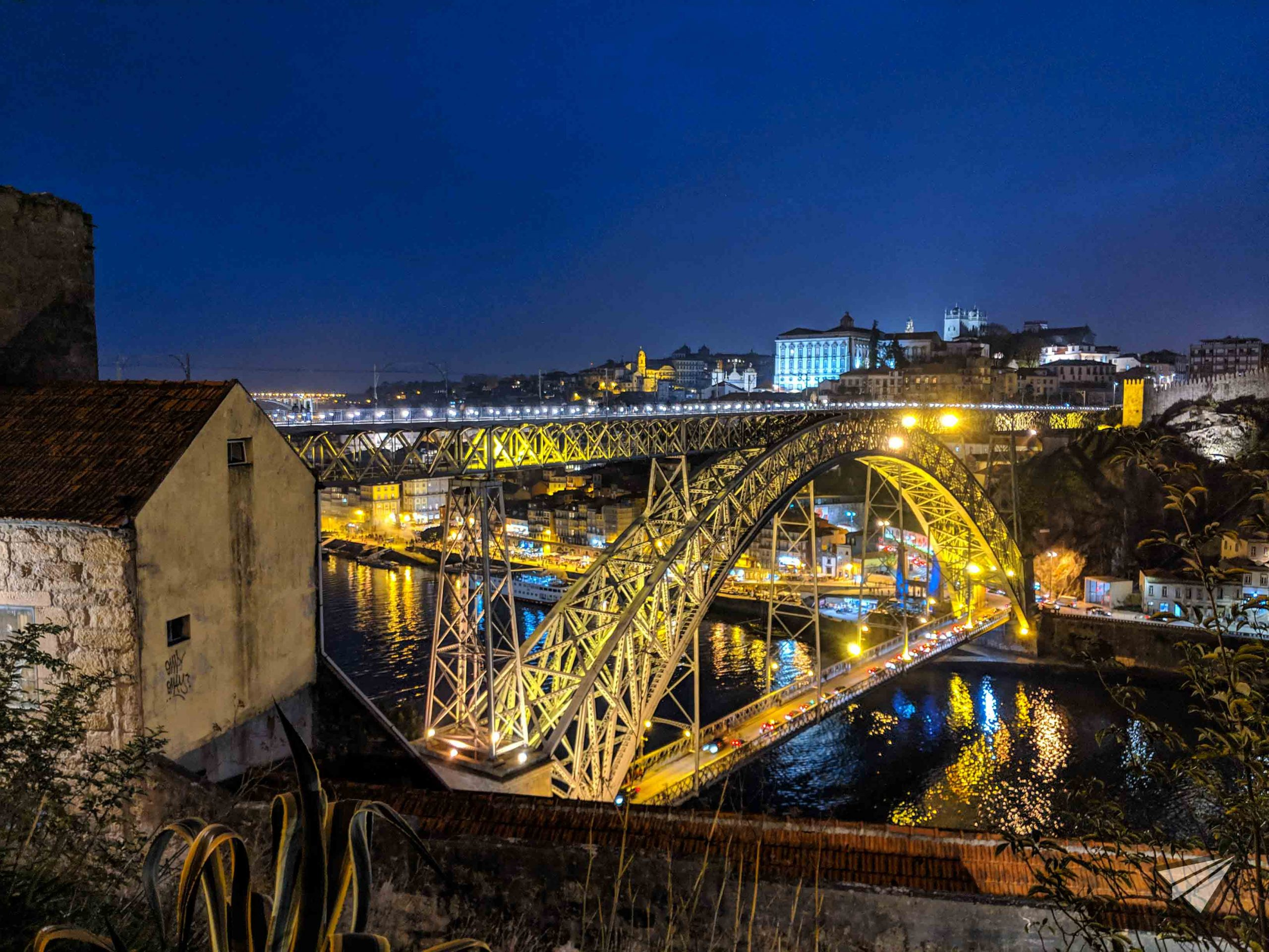 bridge Ponte Luís I by night