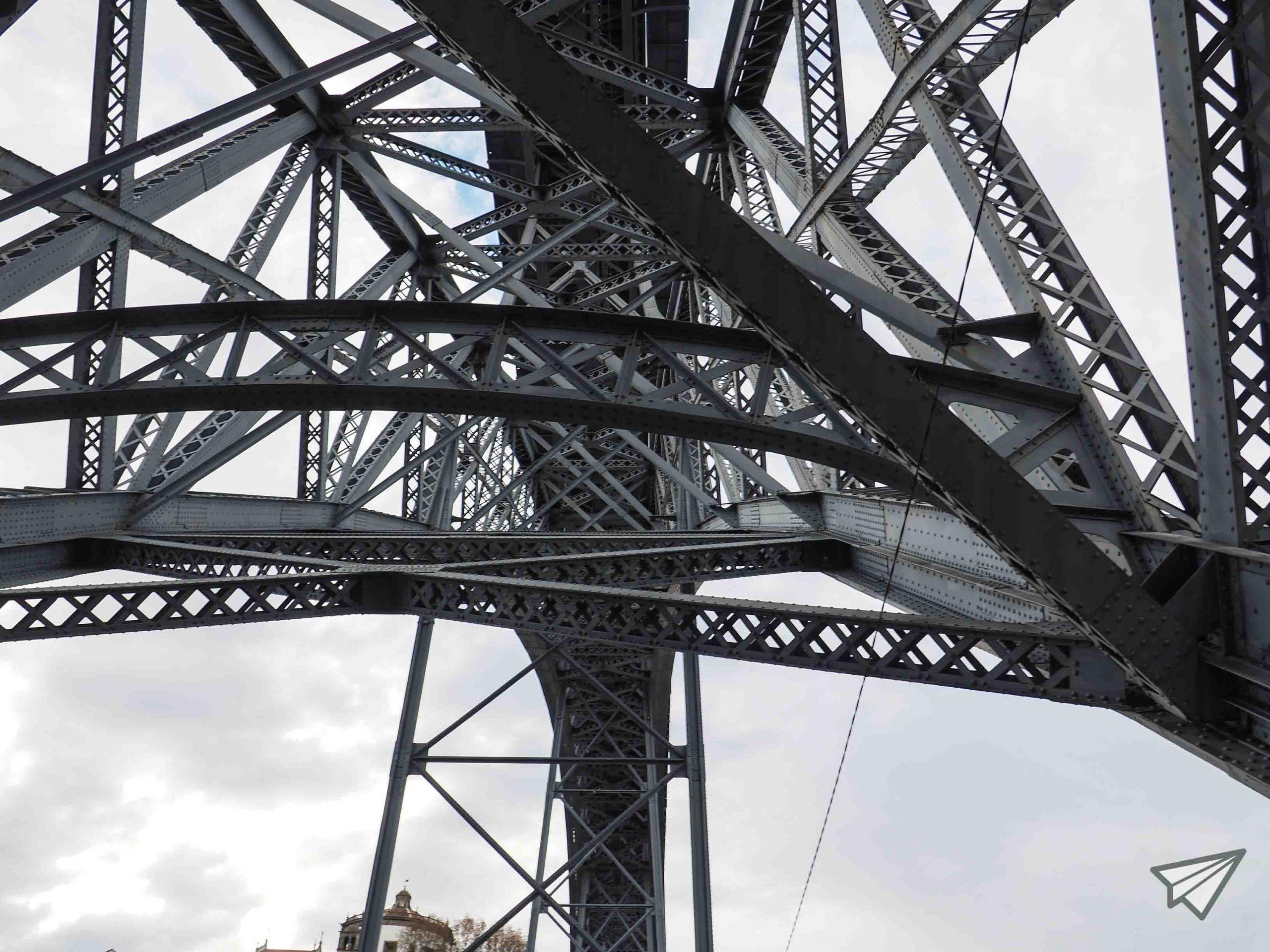 bridge Ponte Luís I construction