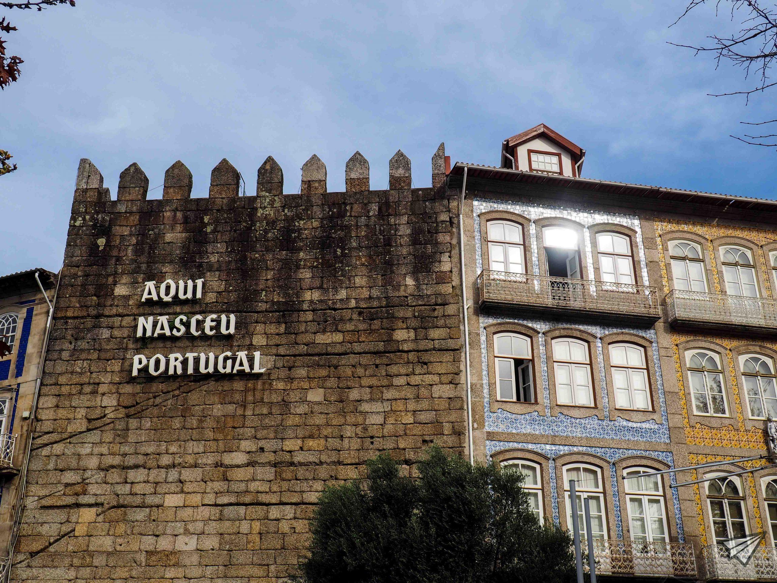 Тук се роди Португалия