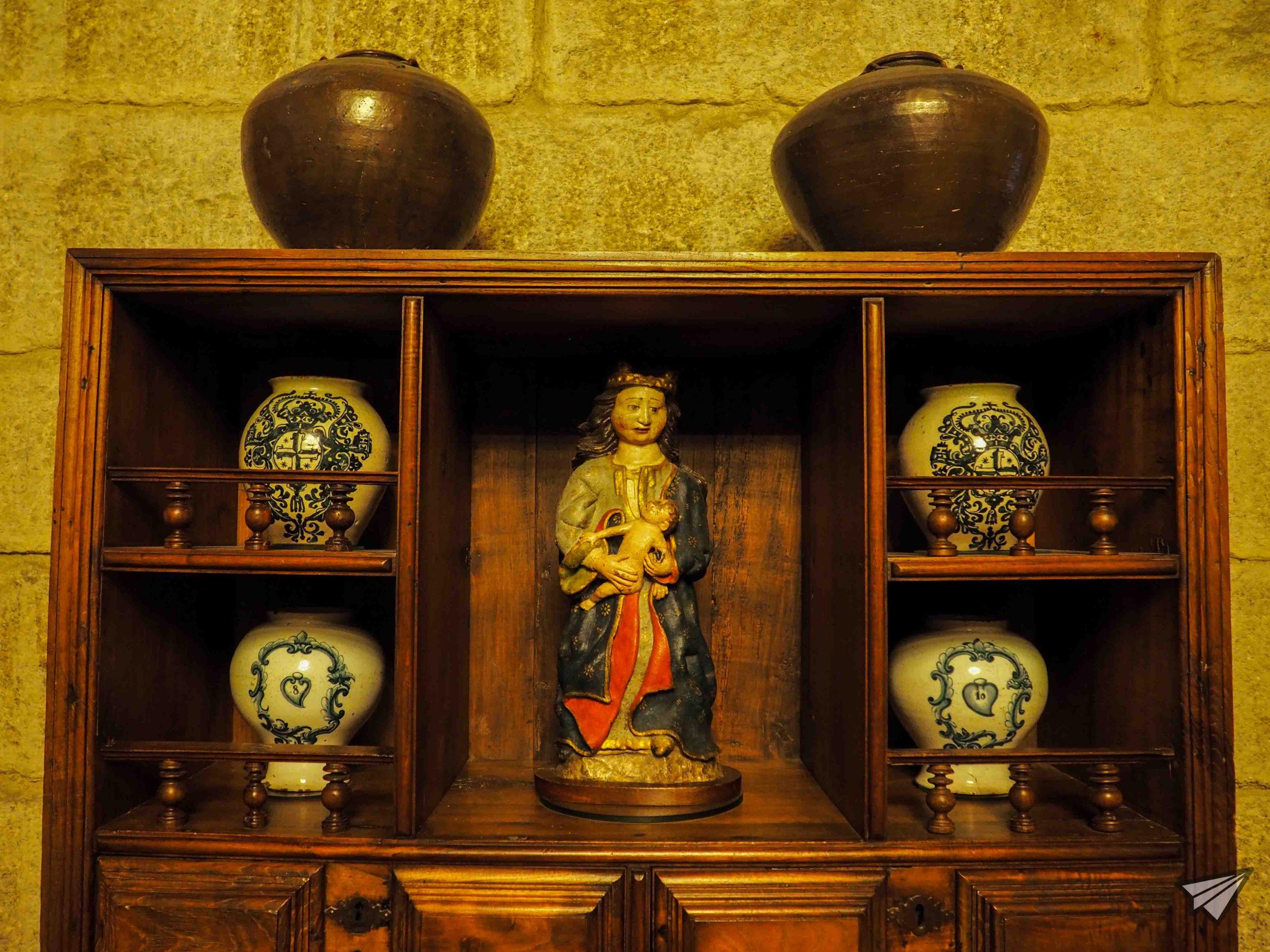 Реликви на дворецът на херцозите на Браганса