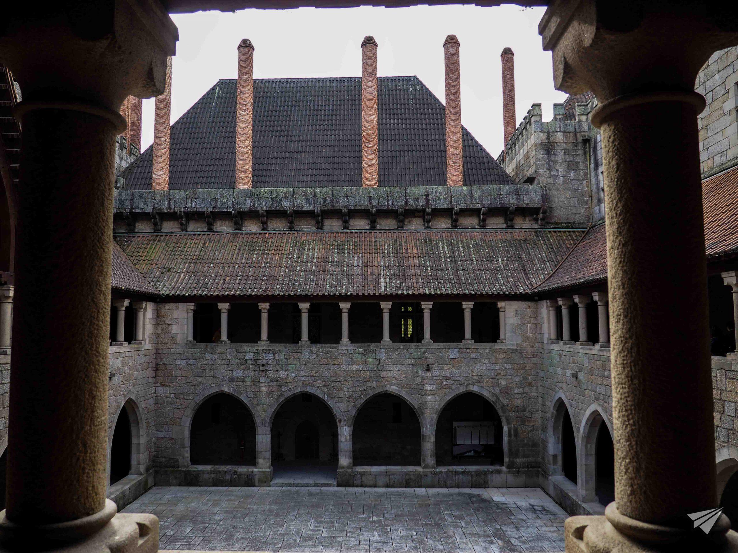 Втори етаж на дворецът на херцозите на Браганса