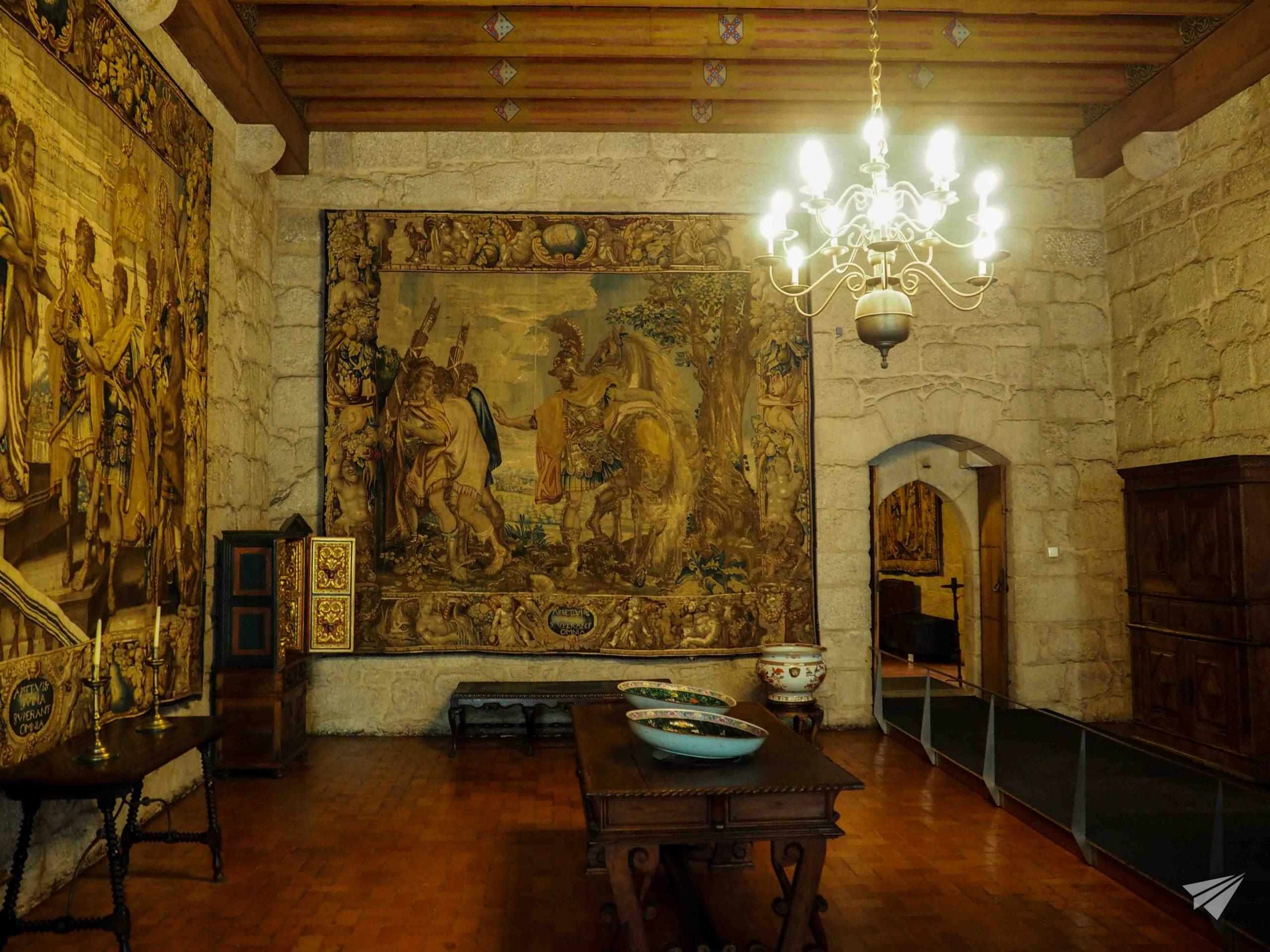 Артефакти на дворецът на херцозите на Браганса