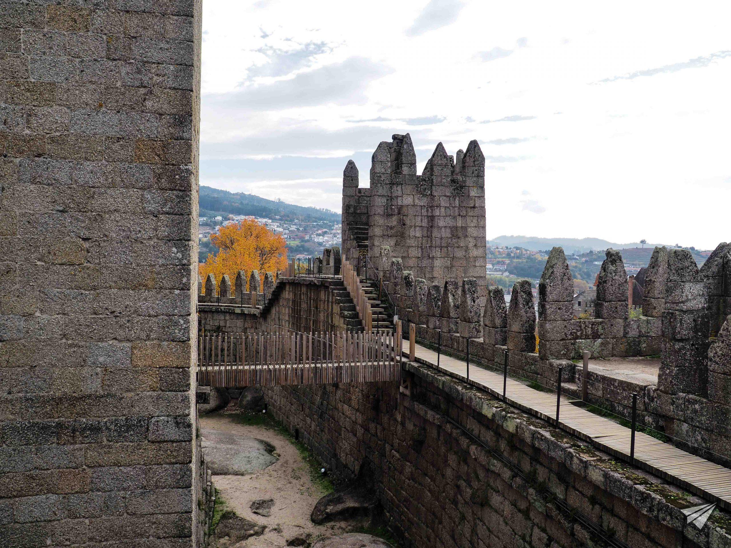 Замъкът Гимараеш архитектура