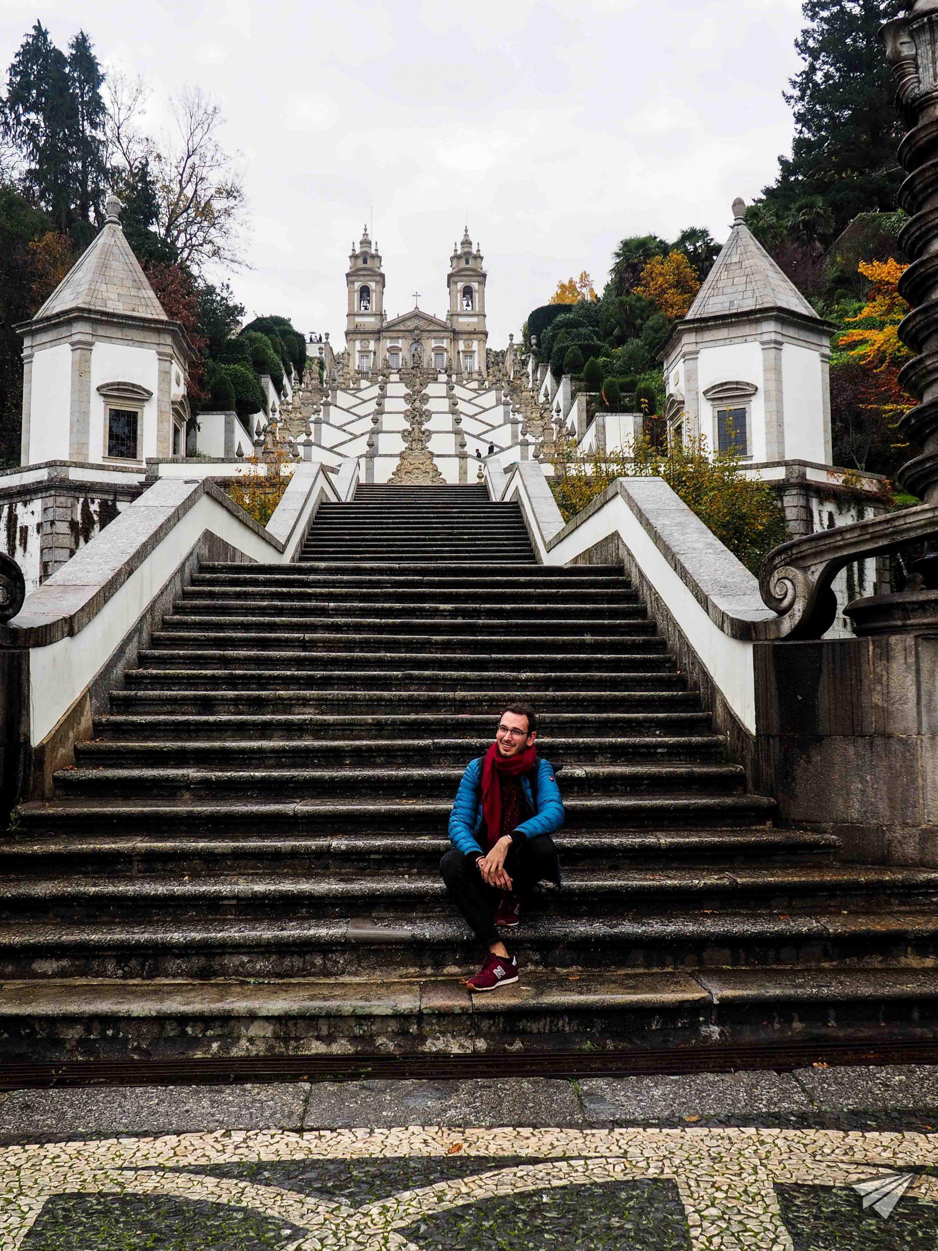 Bom Jesus do Monte стълби